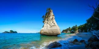 Монолит песчаника, бухта собора, полуостров coromandel, Новая Зеландия 5 стоковые изображения
