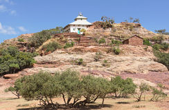 Монолитовая церковь, Эфиопия, Африка стоковое изображение