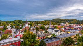 Монпелье, Вермонт, США акции видеоматериалы