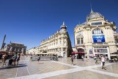 Монпелье, Франция стоковые изображения rf