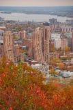 Монреаль городское во время падения Стоковые Изображения