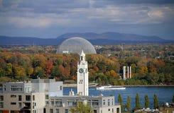 Монреаль в осени стоковые фото