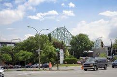 Монреаль, Квебек, Канада - 18-ое июля 2016 - родовое скрещивание и l Стоковое Изображение RF