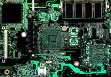 Монтажная плата компьютера Стоковое фото RF