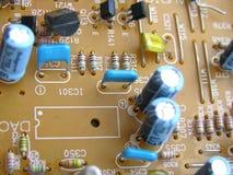 Монтажная плата радиотехнической схемы Стоковые Изображения RF