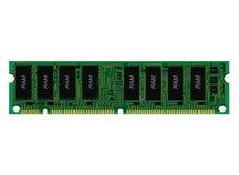 Монтажная плата RAM, PCB Стоковое фото RF
