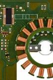 Монтажная плата радиотехнической схемы stepper мотора Стоковые Фотографии RF