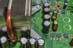 Монтажная плата электроники Стоковое Изображение