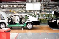 Монтажный цех автомобиля Стоковое Изображение