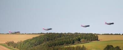 Монтаж RAF Геркулеса принимая  стоковое фото rf