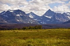 Монтана США стоковое изображение rf