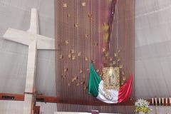 МОНТЕРРЕЙ, NUEVO ЛЕОН/MEICO - 01 02 2017: Базилика de Guadalupe Стоковое Фото