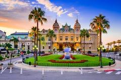 Монте-Карло, Монако - казино стоковое изображение rf