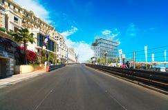 МОНТЕ-КАРЛО/МОНАКО - 2-ОЕ ИЮНЯ 2013: Монако, Монте-Карло святой Стоковая Фотография