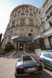 Монте-Карло, Монако, 25 09 2008: Гостиница de Париж Стоковое Изображение RF