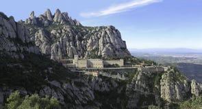 Монтсеррат, Каталония, Испания Стоковая Фотография