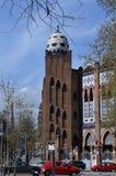 Монументальное здание в Барселоне Стоковая Фотография