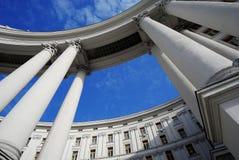Монументальное здание Стоковая Фотография