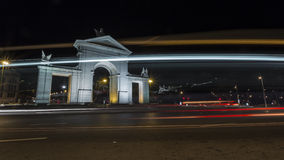 Монументальный строб на ноче Стоковые Изображения RF