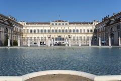Монца (Италия), вилла Reale Стоковая Фотография