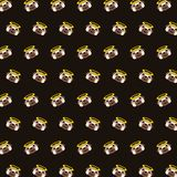 Мопс - картина 75 emoji иллюстрация штока