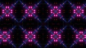 Моргая и накаляя multi картина калейдоскопа цвета бесплатная иллюстрация
