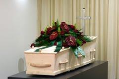 морг гроба Стоковая Фотография