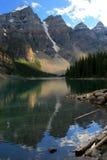 морена озера Стоковые Изображения RF