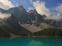 морена озера Стоковое Изображение RF