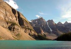 морена озера стоковое фото rf