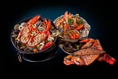 Морепродукты. Подготовленные Shellfish. стоковое фото rf