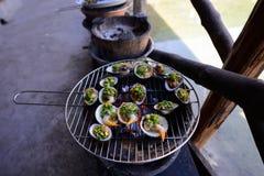 Морепродукты Вьетнама, Ninh Thuan Стоковая Фотография