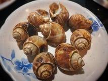 Морепродукты в ресторане шведского стола Таиланда Стоковое Изображение RF