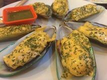 Морепродукты на раковине Стоковые Фотографии RF