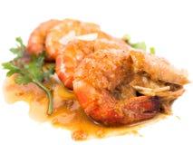 Морепродукты с креветками в соусе тамаринда Стоковое Изображение