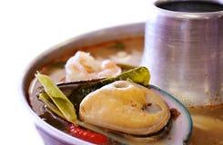 Морепродукты Том Yum стоковое фото rf