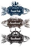 Морепродукты Стоковые Изображения RF