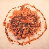 Морепродукты Cajun Стоковое фото RF