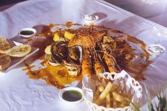Морепродукты Cajun Стоковое Изображение RF