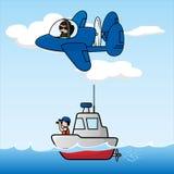 море авиационного дозора Стоковые Фото