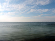 Море далеко в море Стоковое фото RF
