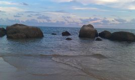 Море безмолвия Стоковые Изображения