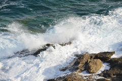 Море берега Стоковые Фотографии RF