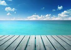 Море бирюзы Стоковые Изображения RF