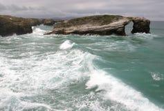 море бурное Стоковая Фотография RF