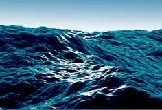 море бурное иллюстрация штока