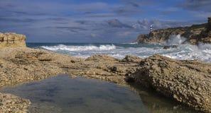 море бурное Стоковые Фотографии RF
