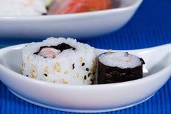 море вкусного лимона японии еды рыб свежего японского материальное сырцовое Стоковое Изображение RF