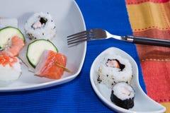 море вкусного лимона японии еды рыб свежего японского материальное сырцовое Стоковые Изображения