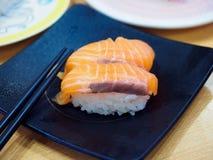 море вкусного лимона японии еды рыб свежего японского материальное сырцовое Стоковые Фотографии RF